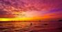 描写夕阳和晚霞的优美句子